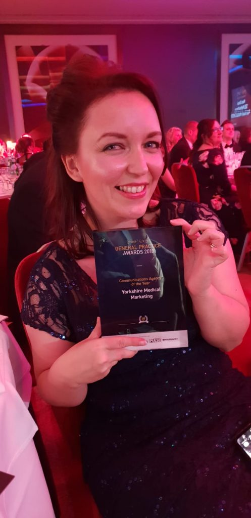 Winning awards and beating imposter syndrome Yorkshire Medical Marketing